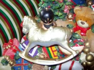 christmas rocking horse 001