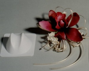 orchid throat former white