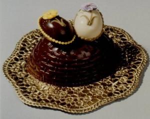 CHOCOLATE EGG BASKET